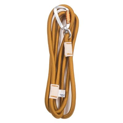 Recycled Rope Leash talutushihna, Almond kullanruskea