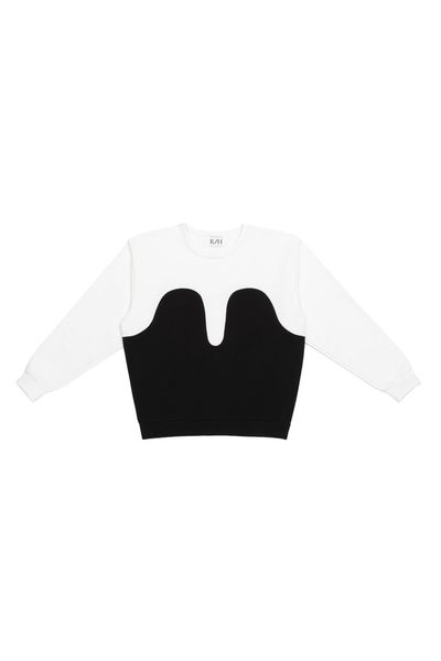Magic Sweater, Off White/Black