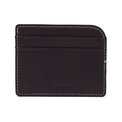 Elk Card Holder, Dark Brown