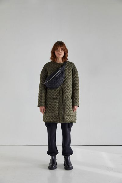 Bobi Coat Forest Green