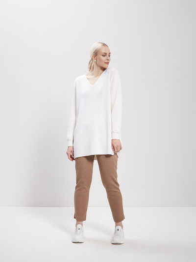 Harmony Jumper, White