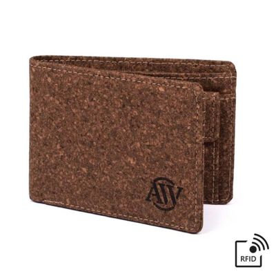 Cork Wallet with RFID Blocking