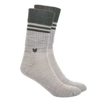 Merino wool Crew 2.0 Socks, Light Grey