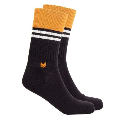 Merino wool Crew 2.0 Socks, Black
