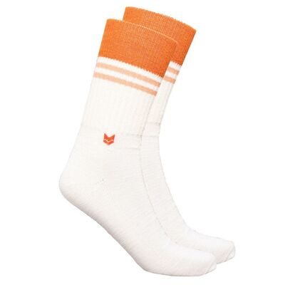 Merino wool Crew 2.0 Socks, Off White